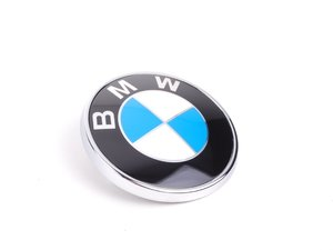 ES#79291 - 51147146052 - BMW Emblem / Roundel  - Brand new trunk lid emblem to replace your worn or faded one - Genuine BMW - BMW
