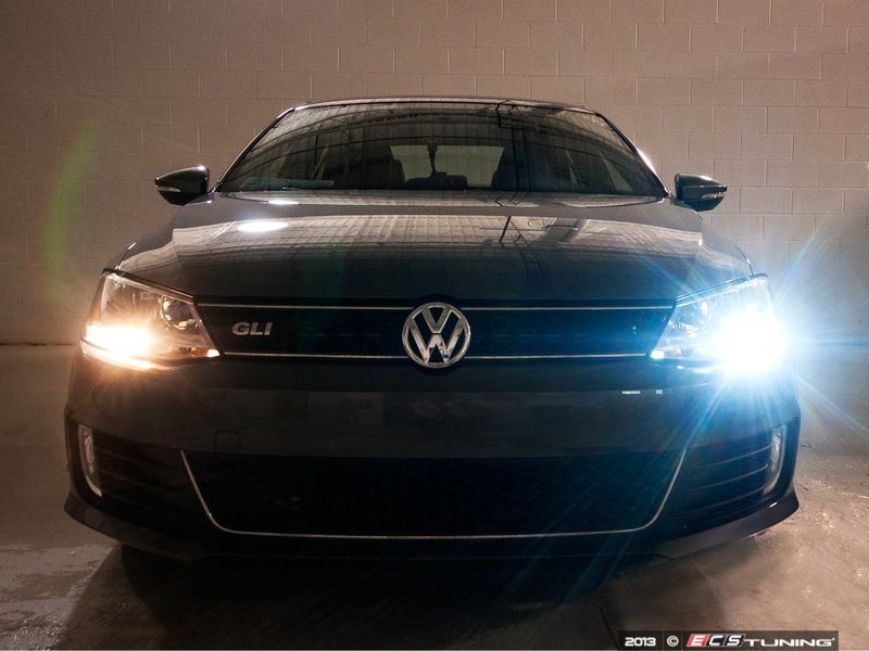 ECS News - Volkswagen MKVI Jetta LED Daytime Running Lights Kit
