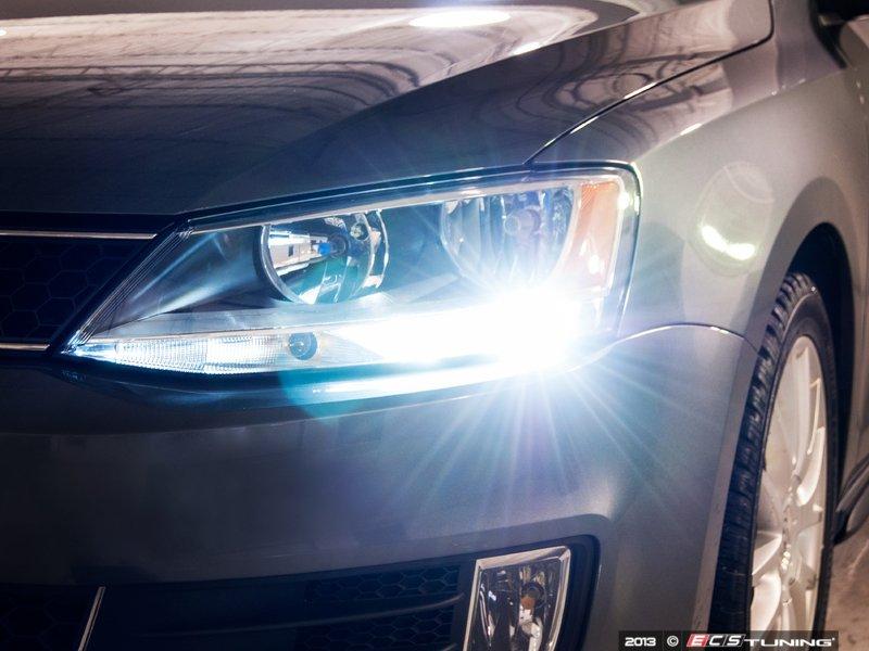 ECS News - Volkswagen MKVI Jetta LED Daytime Running Lights Kit