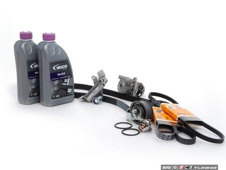 ES#5952 - AWMTBKV2EVWAF -  Timing Belt Kit - Ultimate Plus - Our most complete timing belt kit with coolant - Assembled By ECS - Audi