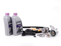 ES#8726 - AWMTBKV2waf - Timing Belt Kit - Ultimate Plus - Our most complete timing belt kit, including coolant - Assembled By ECS - Volkswagen
