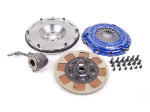 ES#2569433 - SV872-2SFKT -  Stage 2 Clutch Kit - Steel Flywheel (20lbs) - Streetable Clutch holds up to 410 FT LBS TQ - Spec Clutches - Audi Volkswagen
