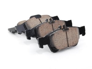 ES#2561274 - 0044204420 - Rear Euro Ceramic Brake Pad Set - Ceramic brake pad set - Includes shims - Akebono - Mercedes Benz
