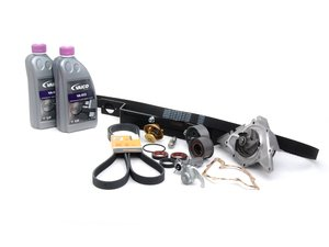 ES#7443 - 078198674 - ECS Tuning Timing Belt Kit - Ultimate Plus - The most comprehensive timing belt kit on the market with free shipping! Includes cam locking tool. - Assembled By ECS - Audi Volkswagen