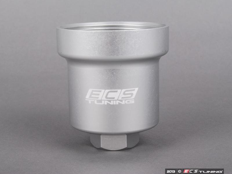 ECS News - Audi B7 A4 2.0T Billet Aluminum Oil Filter Housing