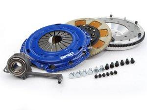 ES#2569431 - SV872-2ALKT -  Stage 2 Clutch Kit - Aluminum Flywheel (9lbs) - Streetable clutch holds up to 410 FT LBS TQ - Spec Clutches - Audi Volkswagen