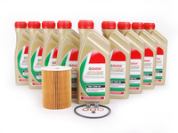 ES#2578578 - E965SVCKT - Inspection I/Oil Service Kit - Everything needed for an oil service including Castrol TWS edge professional oil - Assembled By ECS - BMW