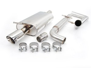 "ES#264012 - FPIM-0280 - Cat-Back Exhaust System - Fully polished 2.5"" system - Billy Boat Performance - Volkswagen"