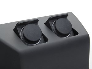 ES#87558 - 51168269444 - Power Outlet Module - Black - Located directly behind the roll top storage tray - Genuine BMW - BMW