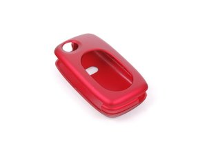 ES#2602087 - 3232RKLN12573 - Remote Key Cover Plastic - Metallic Red - Snap on covering for your switchblade style key - ECS - Audi