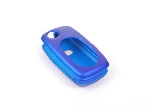 ES#2602086 - 3232RKLN12572 - Remote Key Cover Plastic - Metallic Blue - Snap on covering for your switchblade style key - ECS - Audi