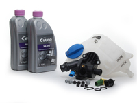 ES#2586289 - 06B121111K2KT - Cooling System Refresh Kit - Level 1 - Replace your thermostat, temp sensor and expansion tank with one kit! - Assembled By ECS - Audi