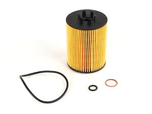 ES#7306 - 11427511161 - Oil Filter Kit - Includes all related gaskets - Hengst - BMW