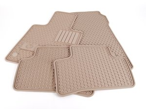 ES#1828003 - Q6680696 - All-Season Floor Mats - Set Of Four - Beige Color - Genuine Mercedes Benz - Mercedes Benz