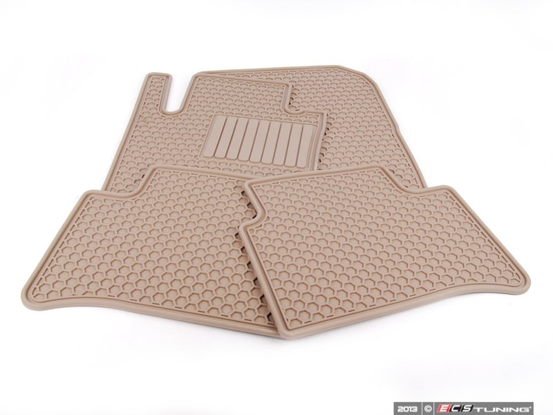 genuine mercedes benz q6680684 rubber floor mats set