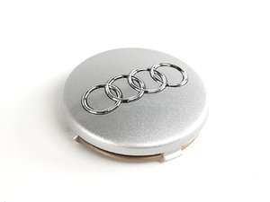 ES#366676 - 4B0601170Z17 - Center Cap - Avus Silver - Priced Each - Replace your missing or damaged center cap (57mm) - Genuine Volkswagen Audi - Audi