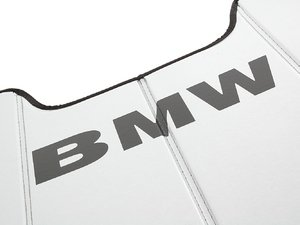 ES#195867 - 82111470411 - UV Sunshade - Used to keep the summer sun from overheating your interior - Genuine BMW - BMW