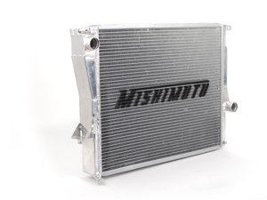 ES#2764335 - MMRADCON99X - X-Line Performance Aluminum Radiator - 2 row aluminum radiator to keep engine temperatures down in all conditions - Mishimoto - BMW