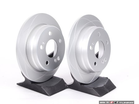 ES#2215150 - 2014231212 - Premium One Rear Brake Rotors - Pair - Replace your rotors for a great price  - ATE - Mercedes Benz