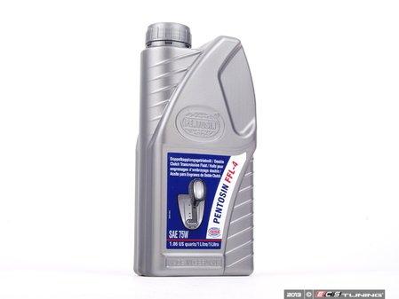 ES#3419045 - 83220309031KT2 - FFL-4 75w Transmission Fluid - 1 Liter - For BMW manual transmissions requiring MTF-LT-2/FFL-4 fluid - Pentosin - BMW MINI