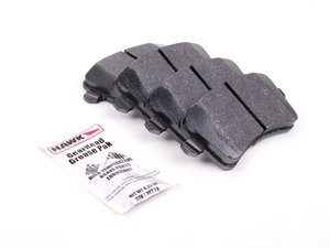 ES#2092634 - HB642F.658 - Rear HPS Performance Brake Pad Set - One of the best-selling all around brake pads - Hawk - Audi