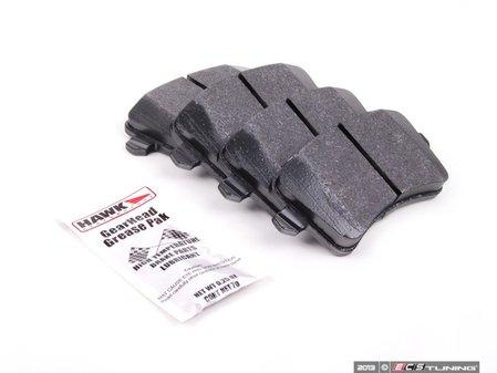 ES#2092634 - HB642F.658 - Rear HPS Performance Brake Pad Set - One of the best-selling all around brake pads - Hawk - Audi