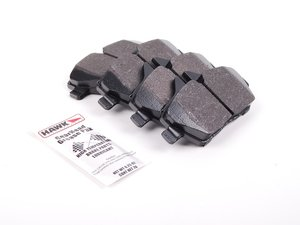 ES#1306420 - HB570F.666 - HPS Compound Performance Brake Pad Set - An upgraded performance pad for spirited street driving - Hawk - BMW MINI
