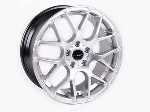 """ES#2703440 - 349A-2 - 18"""" Style 349 Wheels - Staggered Set Of Four - 18""""x8""""/18""""x9"""" - ET35 CB66.6 5x112 Hyper Silver - Alzor - Audi"""