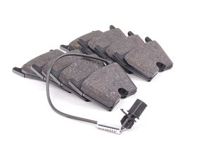 ES#2844985 - 8T0698151D - Front Brake Pad Set - Restore the stopping power in your vehicle - Genuine Volkswagen Audi - Audi