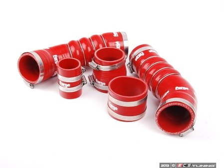 ES#2538452 - FMKTTTRSRED - TTRS Silicone Boost Hose Kit - Red - Set of five silicone boost hoses for your Audi - Forge - Audi
