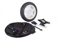 ES#2622837 - 36112159861 - Spare Tire Kit - Add convenience and peace of mind, and ditch the run flats! - Genuine European BMW - BMW