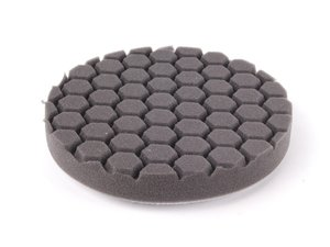 "ES#2619345 - BUFX106HEX6 - 6.5"" Black Hex Logic Finishing Pad - The best pad to use with glazes or crme waxes for a brilliant finish - Chemical Guys - Audi BMW Volkswagen Mercedes Benz MINI Porsche"