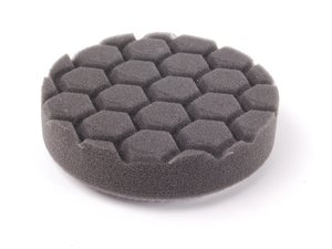 "ES#2626472 - BUFX106HEX4 - 4"" Black Hex Logic Finishing Pad - The best pad to use with glazes or crme waxes for a brilliant finish - Chemical Guys - Audi BMW Volkswagen Mercedes Benz MINI Porsche"