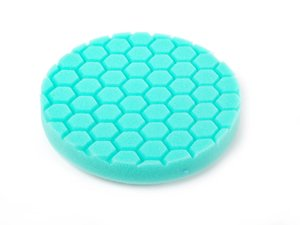 "ES#2619275 - BUFX103HEX6 - 6.5"" Green Hex Logic Polishing Pad - 1000 To 1500 Grit - Offers the versatility of cutting or polishing - Chemical Guys - Audi BMW Volkswagen Mercedes Benz MINI Porsche"