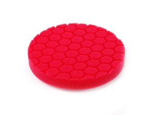 "ES#2619190 - BUFX107HEX6 - 6.5"" Red Hex Logic Perfection Pad - The best pad for the best waxes and sealants - Chemical Guys - Audi BMW Volkswagen Mercedes Benz MINI Porsche"