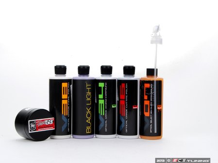 ES#2623191 - ULTIMATEBLACKKT - The Optical Select Premium Kit - This comprehensive kit will take you through the entire process of paint correction with a quality polish, sealant and wax - Chemical Guys - Audi BMW Volkswagen Mercedes Benz MINI Porsche