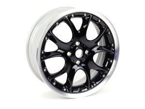 ES#514944 - 36116787710 - R98 Two Piece Web Spoke Wheel (4x100) Black - Priced Each - 17 x 7J ET:48 - Genuine MINI - MINI