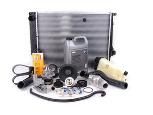 ES#2598404 - 11517527910KT - Cooling Maintenance Kit - Level 3 - The  ultimate cooling refresh kit - featuring a Geba water pump with metal impeller - Assembled By ECS - BMW