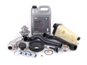 ES#205298 - ECSE361153-2 - Cooling System Refresh Kit - Level 2 - A complete kit to help solve your BMWs cooling problems - featuring a GEBA water pump with a metal impeller - Assembled By ECS - BMW
