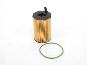ES#2223656 - 95810722220 - Oil Filter Element - Includes o-ring - Genuine Porsche - Porsche
