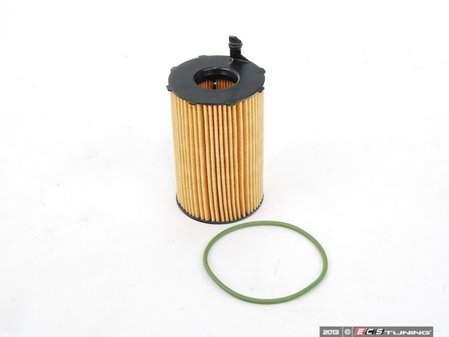 ES#2223656 - 95810722220 - Oil Filter Element - Includes o-ring - Genuine Porsche - Porsche
