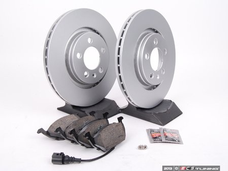 ES#257413 - 1J0698040 - Front Brake Service Kit (280x22) - Featuring Meyle rotors and Centric Premium Ceramic pads - Assembled By ECS - Volkswagen