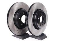 ES#2153914 - 40506018 - Rear Brake Rotors - Pair (345x24) - Budget friendly rotors. - OP Parts - BMW