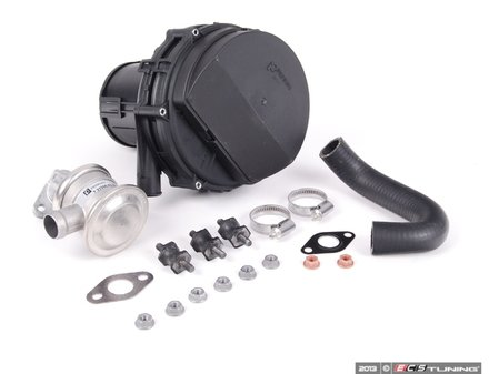 ES#2622539 - 11727553056KT3 -  Secondary Air Pump Kit - Level 1 - This essential kit includes the secondary air pump, control valve, hoses and hardware to mount pump and valve. - Assembled By ECS - BMW