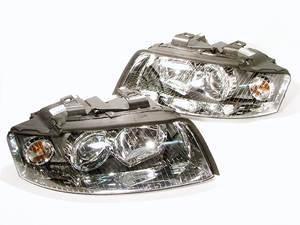ES#5072 - 8E0941029030 - European Xenon Headlight Set - Upgrade your exterior lighting to the Euro look - Genuine European Volkswagen Audi - Audi