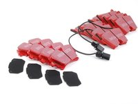 ES#2627411 - DP31513CKT - Front & Rear RedStuff Brake Pad Kit - High performance street pad, featuring Kevlar technology. - EBC - Audi