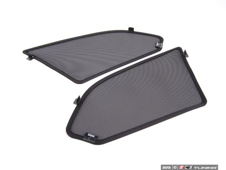 ES#96262 - 51400406865 - Rear Sun Blind Set - Includes both sun blinds for the rear quarter windows - Genuine BMW - BMW