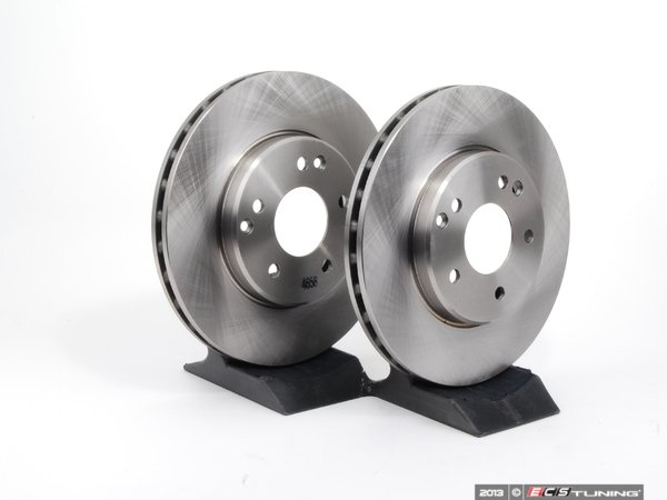 ES#2588222 - 2034210312BRMKT - Front Brake Rotors - Pair - Does not include new rotor securing screws - Brembo - Mercedes Benz