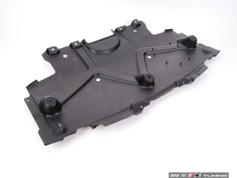 Engine Belly Pan : Genuine mercedes benz engine belly pan front