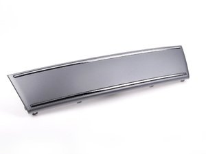 ES#2081145 - 8E0807287C1RR - Front Plate Filler - Platinum Grey - Clean up the look of your front end - Genuine Volkswagen Audi - Audi